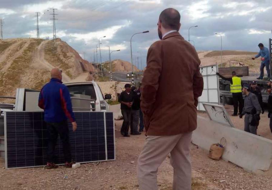 beduin solar panels
