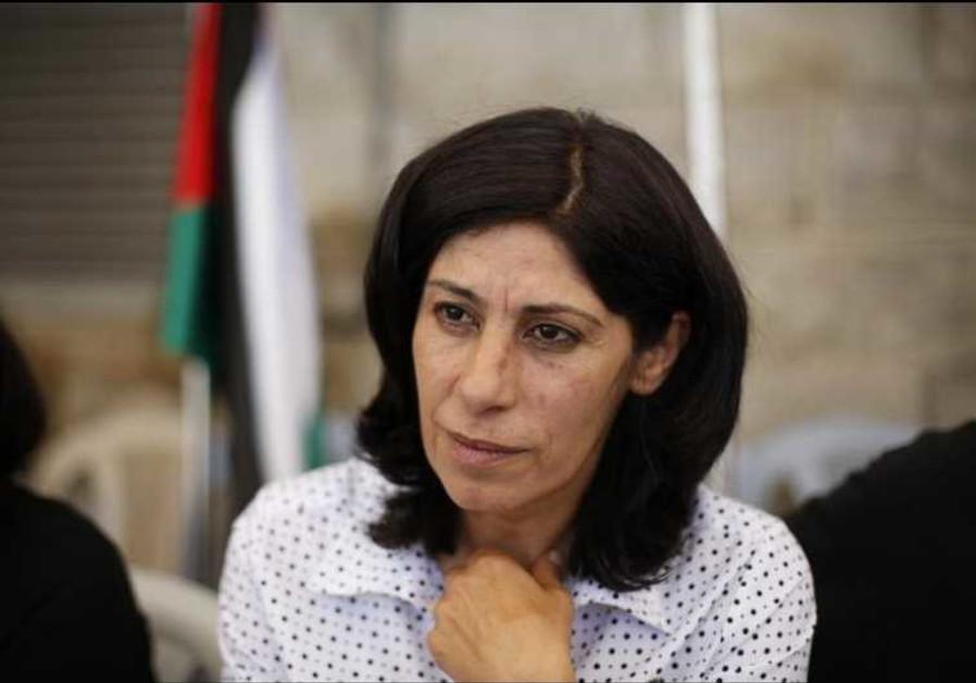 Palestinian parliamentarian Khalida Jarrar