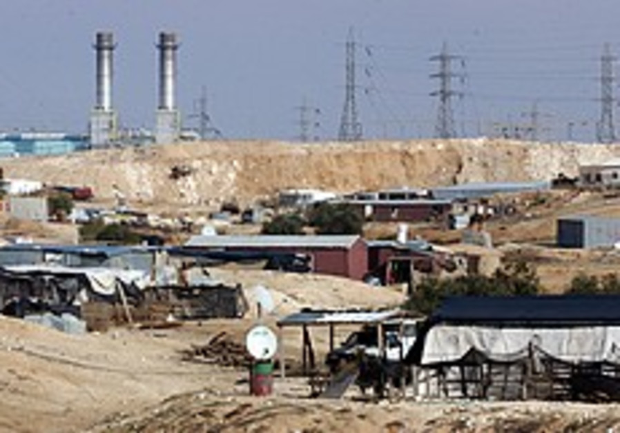No rocket protection for Negev's unrecognized Beduin residents