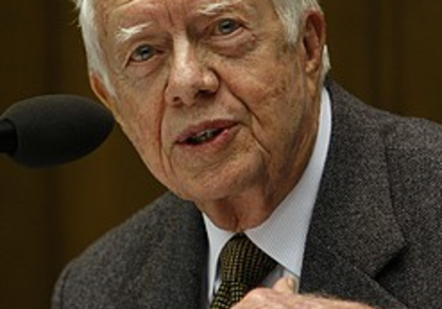 Carter: No Palestine, catastrophe for Israel