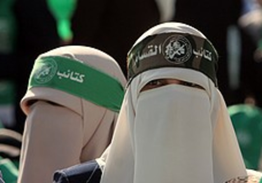 Hamas police said enforcing Islamic law