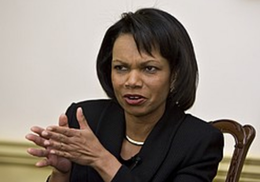 Rice says Iran scaling back in Iraq