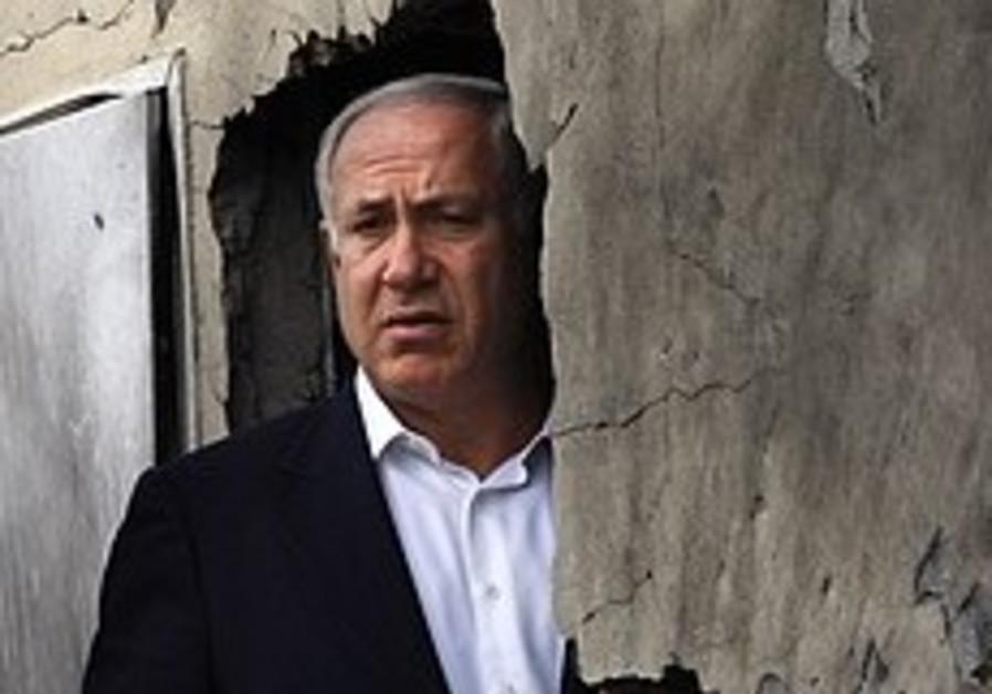 Netanyahu joins Gaza op PR effort