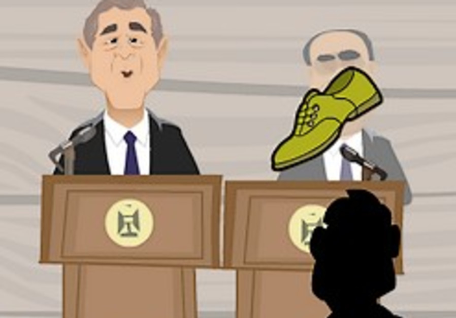 Internet flooded with shoe-throwing games in wake of Bush incident