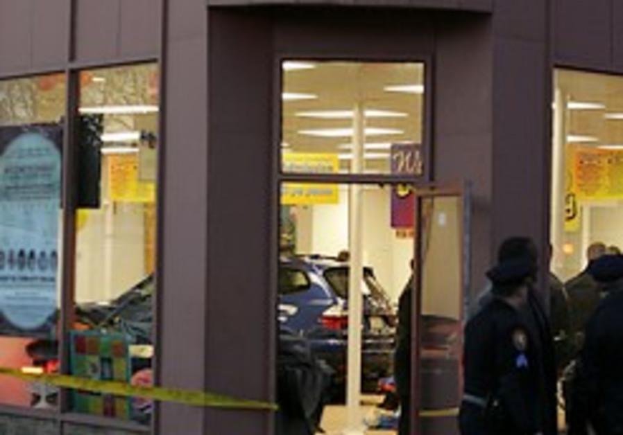 Car crashes into New York Chabad Hanukka party