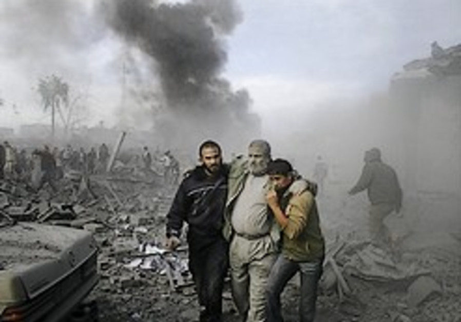 Analysis: The Gaza operation's unstated goal: Anarchy