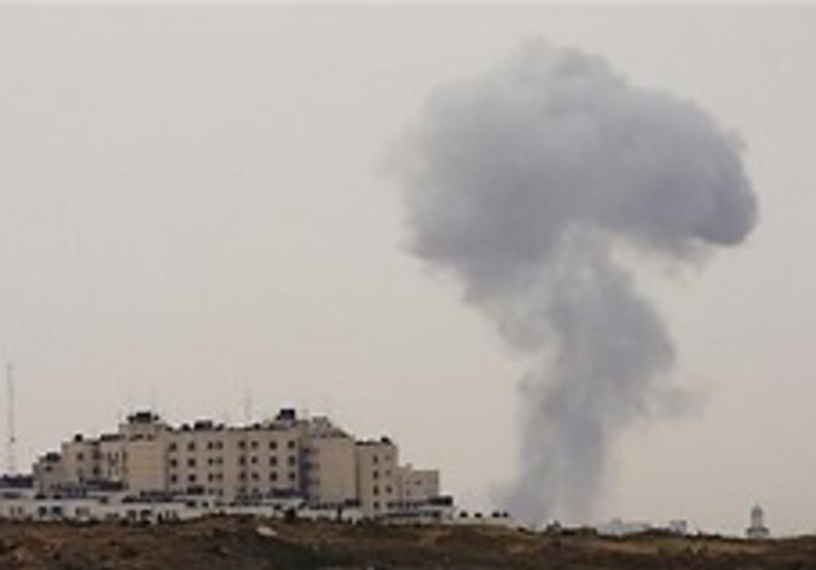 Human rights group protests Gaza civilian casualties