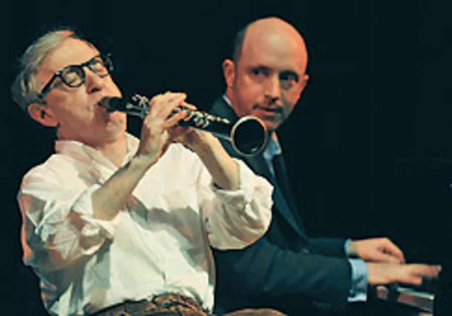 Woody Allen jazzes it up in Warsaw
