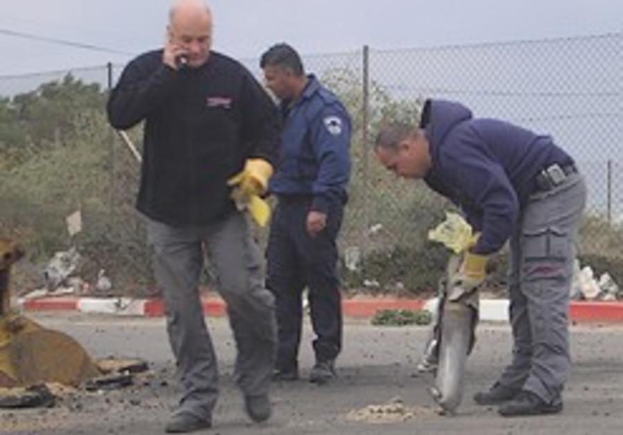 Rockets fall near Beersheba, Ashkelon