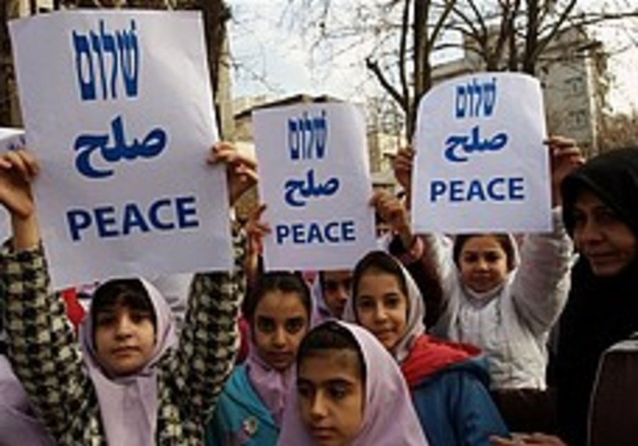 Iranian Jews protest Gaza 'slaughter'