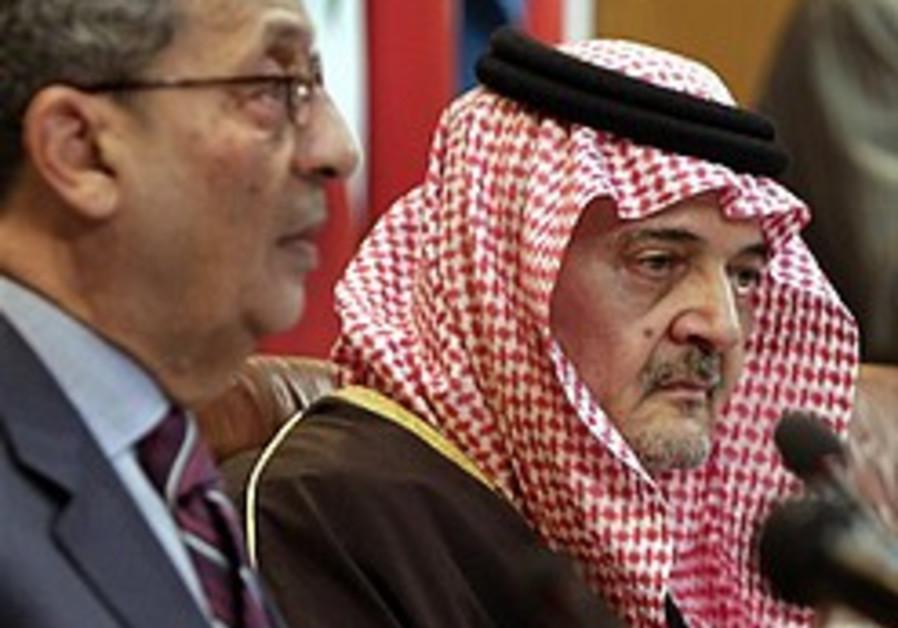Saudi FM, Arab League chief blame IDF op on Palestinian rift
