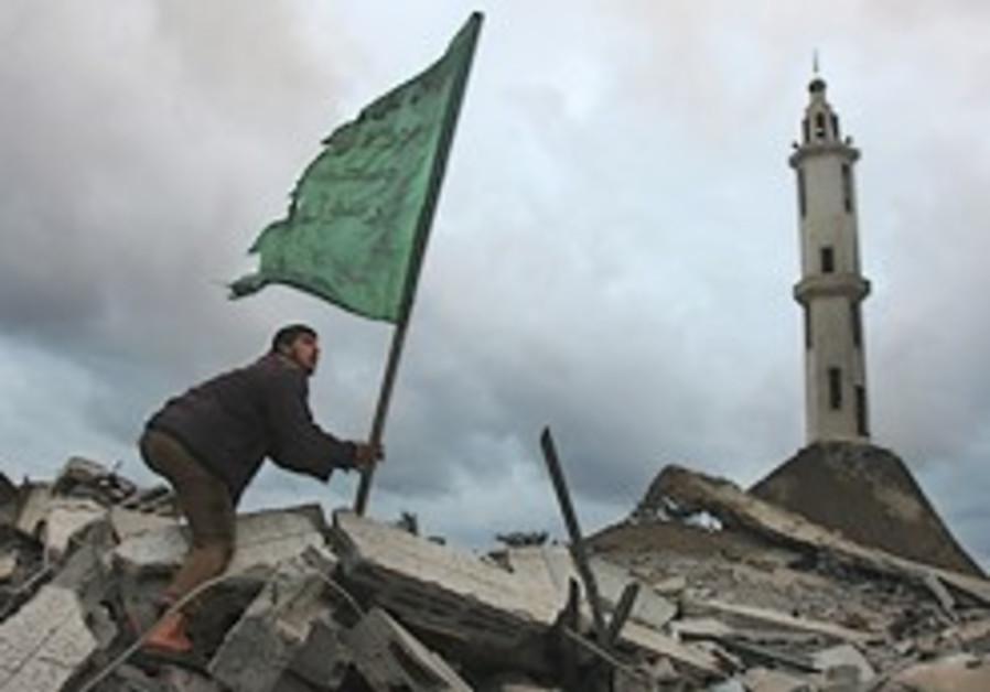 IAF hits mosque storing rockets