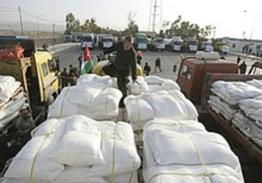 'Humanitarian aid flow in our interest'