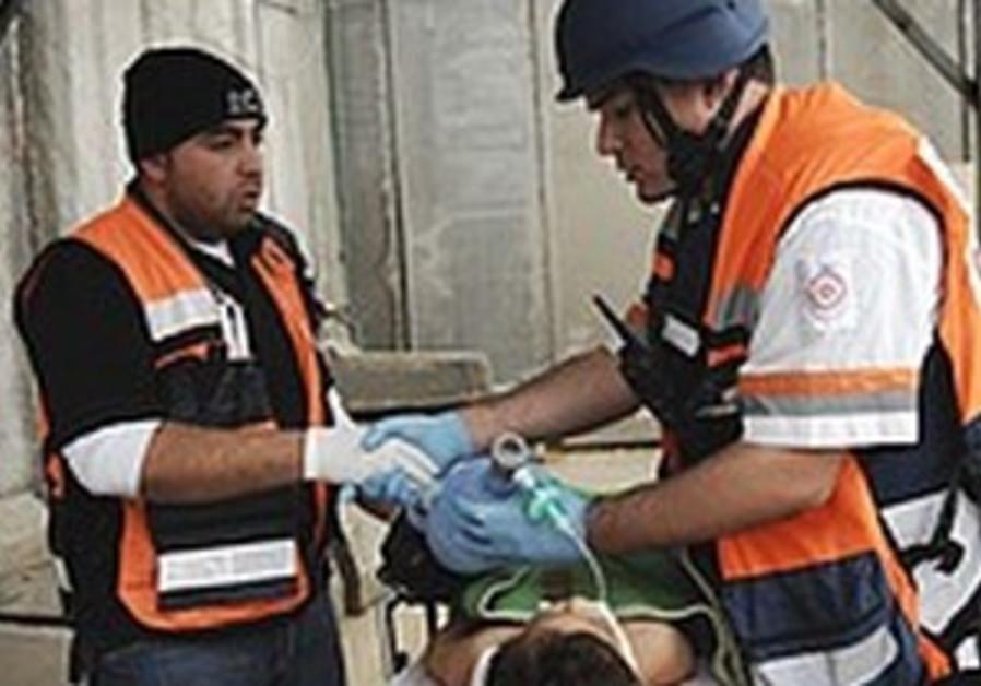 Des bless?s palestiniens soign?s en Isra?l