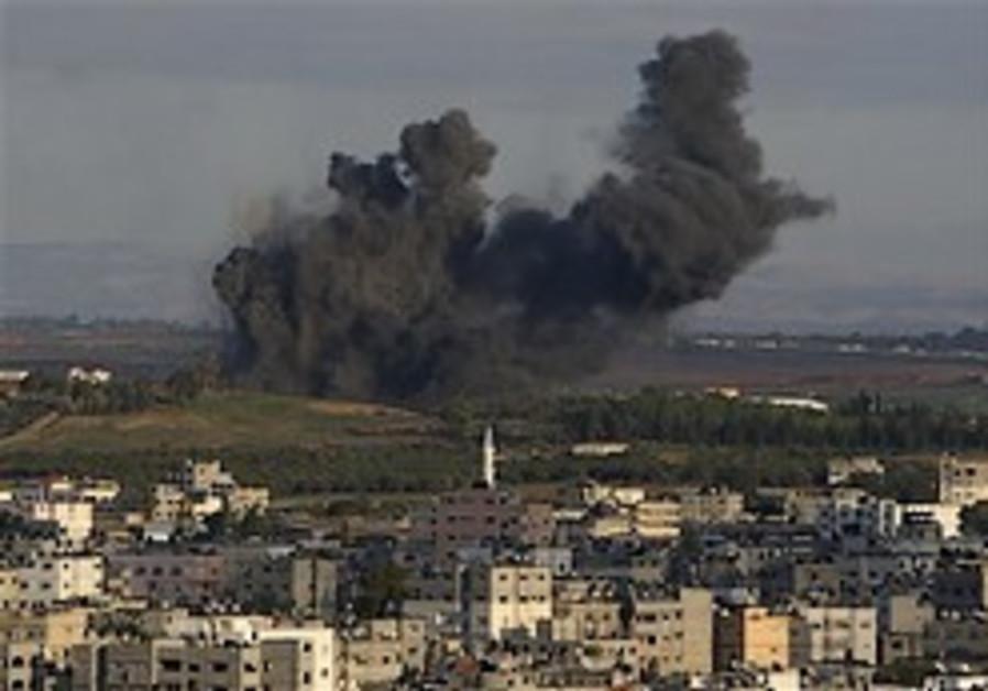 IAF strikes 35 targets in Gaza Strip