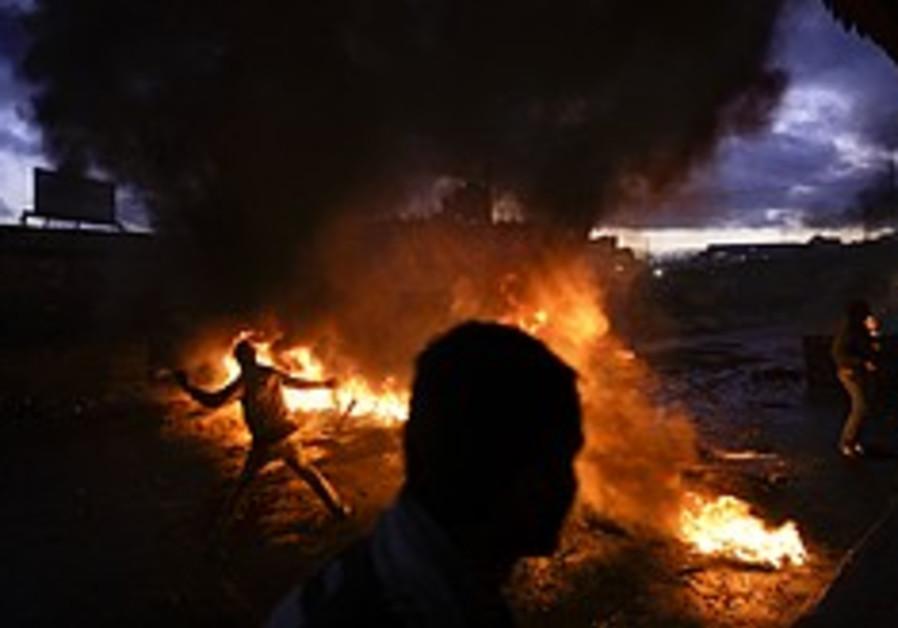 Minor clashes follow e. J'lem prayers
