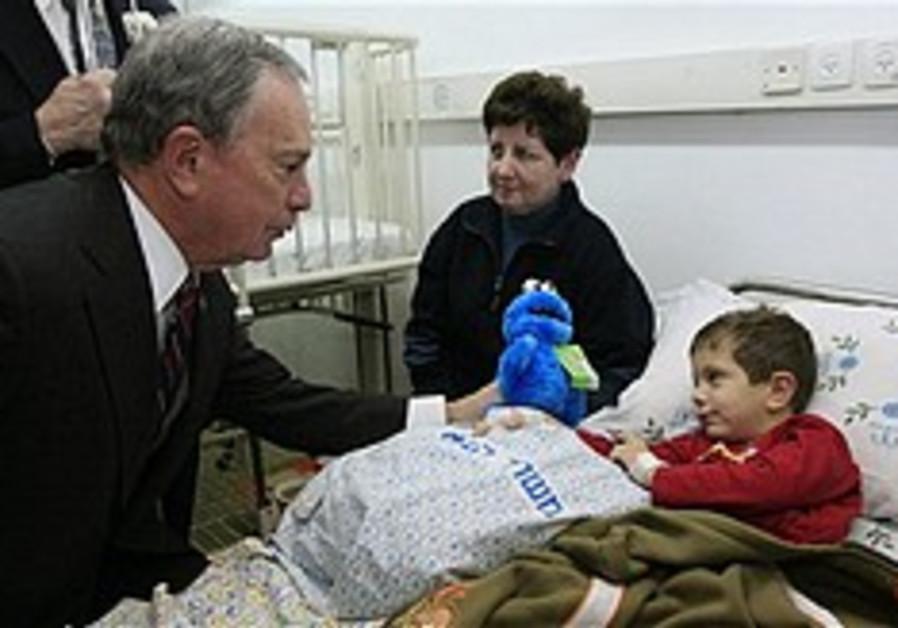 NY mayor visits Israel in solidarity