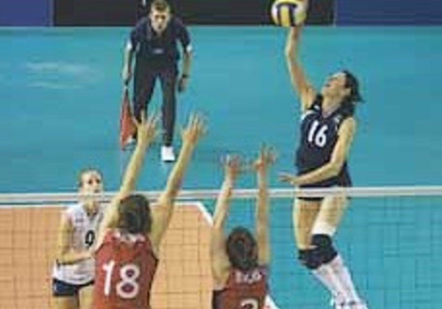 Volleyball: Israelis advance after beating Brits