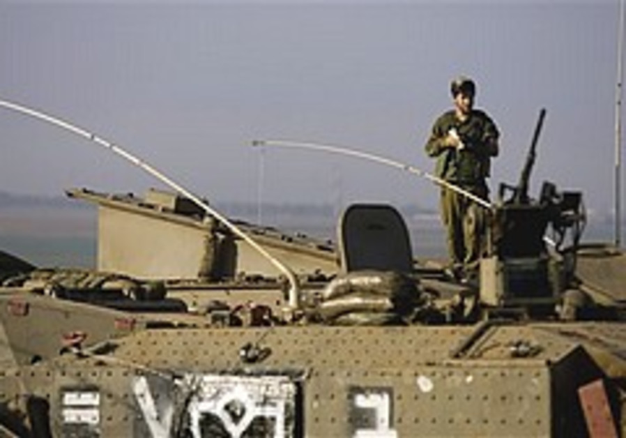 Reservists take over in northern Strip, infantry push deeper into Gaza