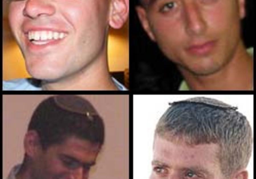 fallen Nitai Stern, Dagan Wartman, Yousef Moadi, Y