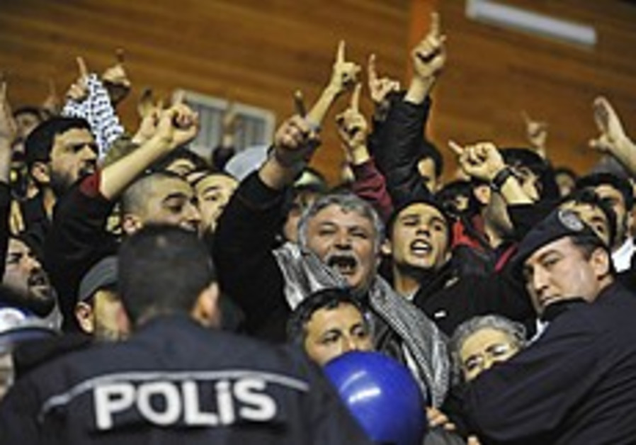 Terror in Turkey for Bnei Hasharon team