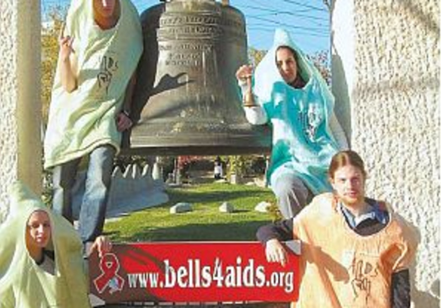 people dressed as condoms AIDS awareness 298.88