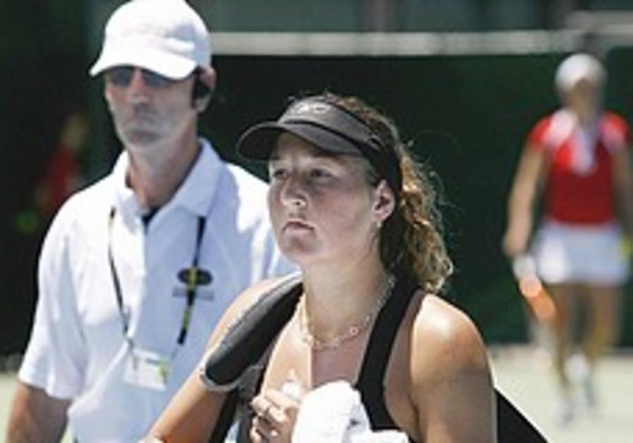 Tennis: Demos threaten to disrupt Pe'er in NZ