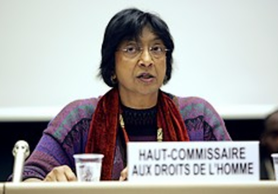 UN rights chief appeals for Durban 2