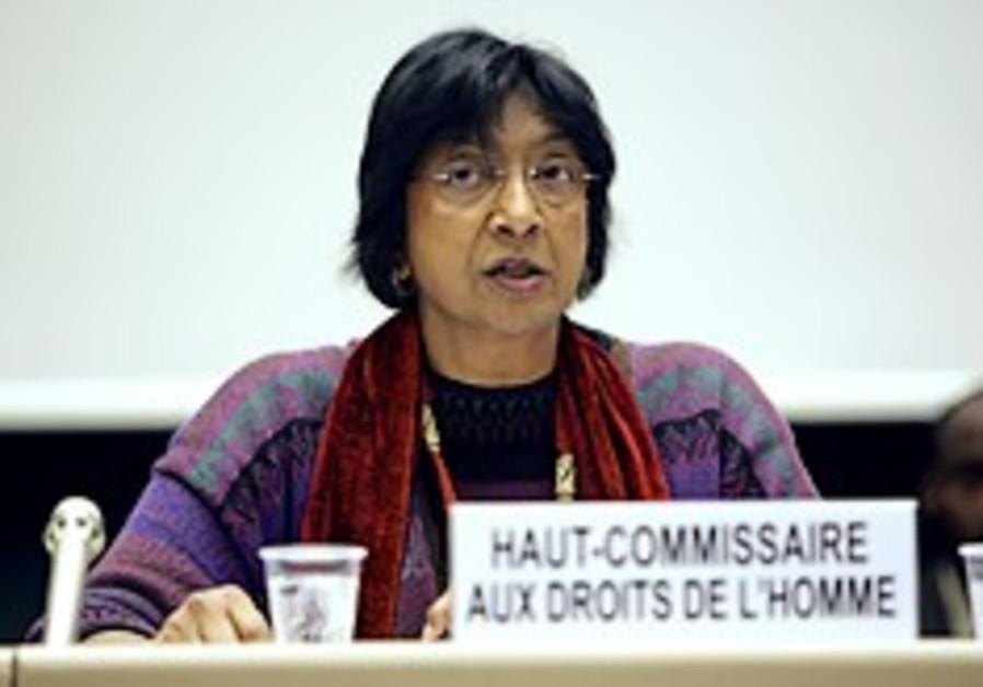 UN rights chief slams Durban II critics