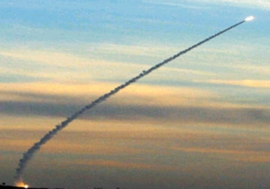 arrow missile launch from distance