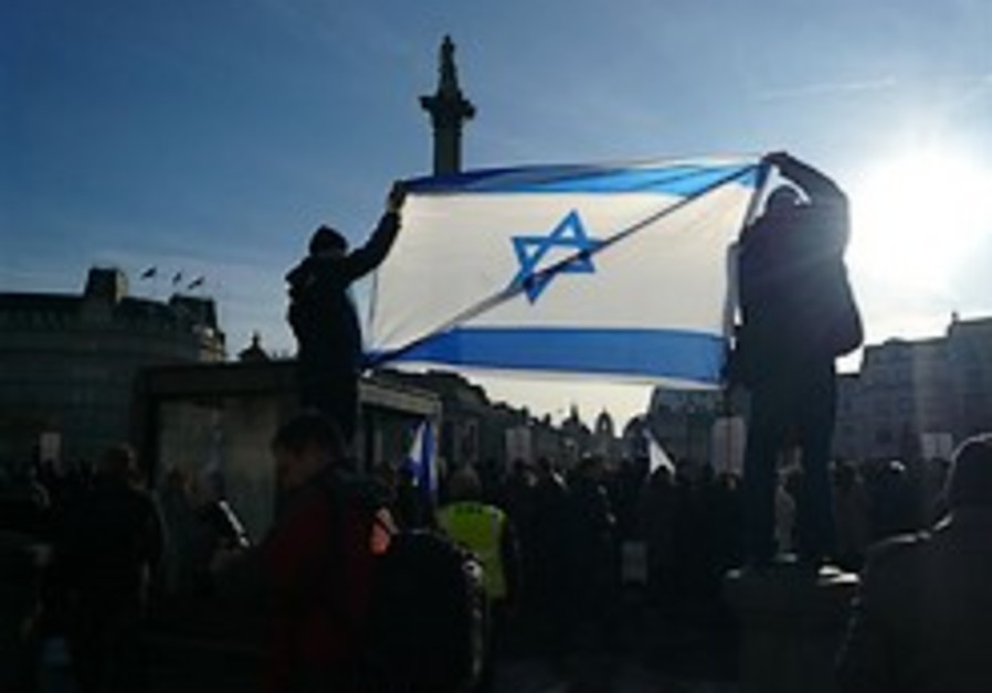 Global Jewish youth take Israel advocacy to the street