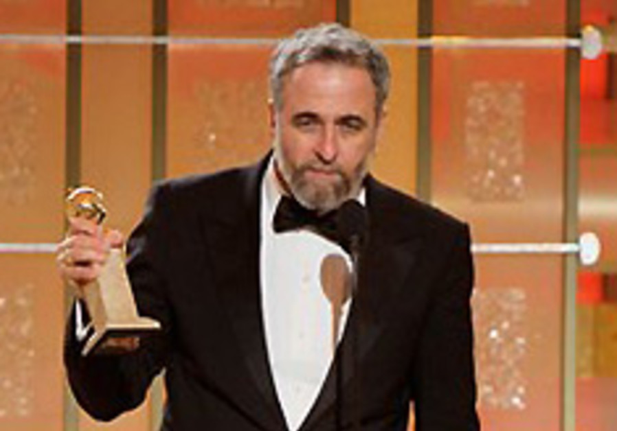 Israeli director takes Golden Globe