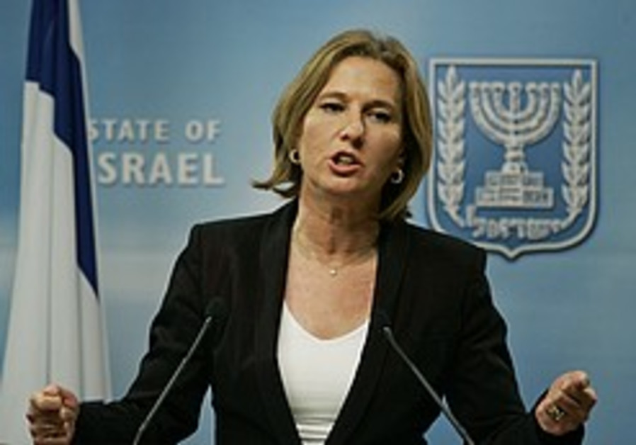 High-level Iranian cleric calls for shooting Livni