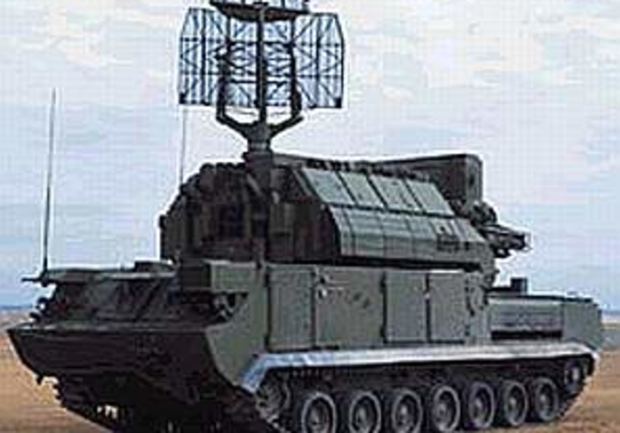 Iran test fires Russian missile system