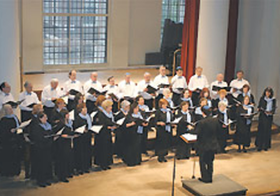 UK's Zemel Choir plans Israel tour