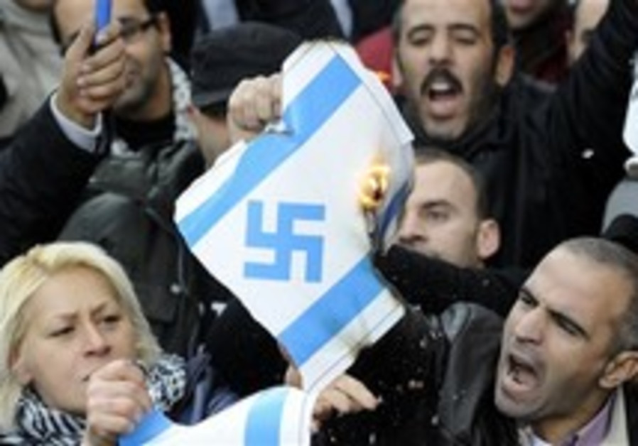 Israel worried about upswing in international anti-Semitism