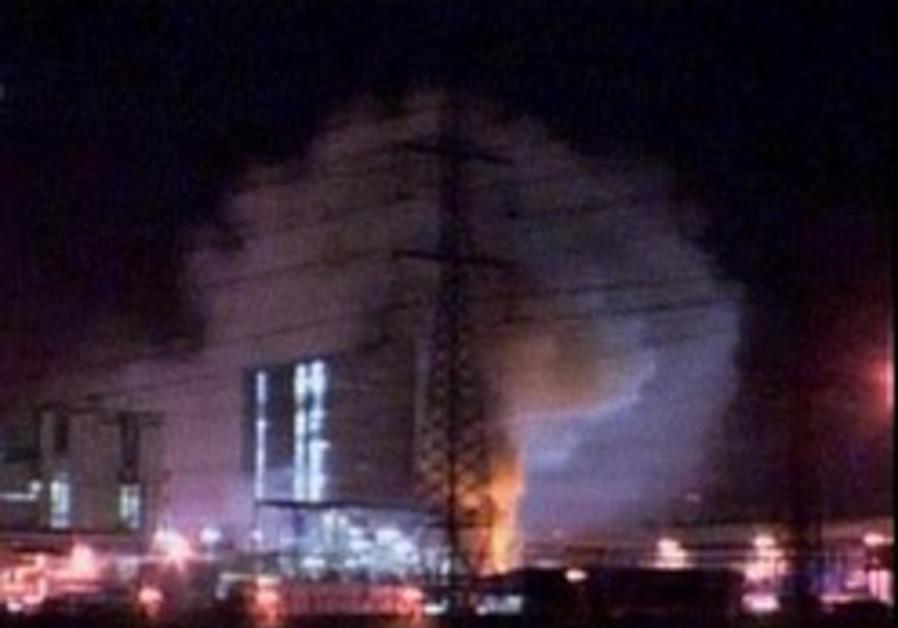 Massive Ashdod factory blaze put out