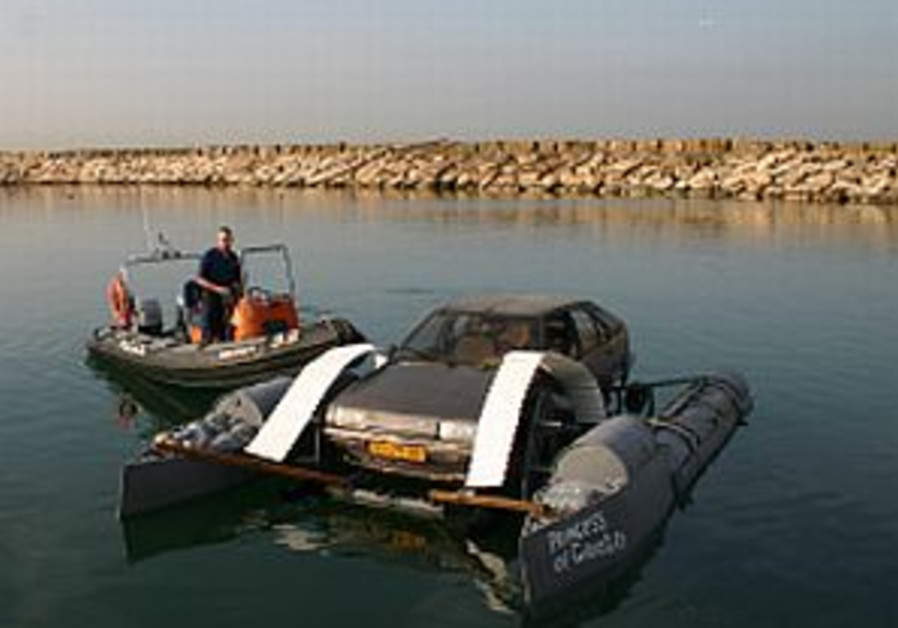 Man suspected of fleeing Israel on raft