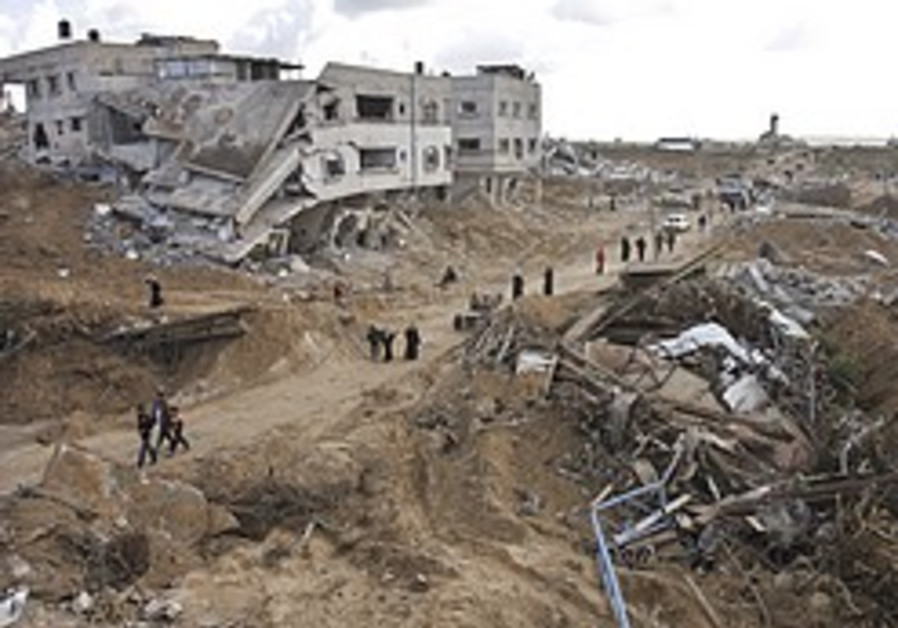 '95 bodies discovered in Gaza rubble'