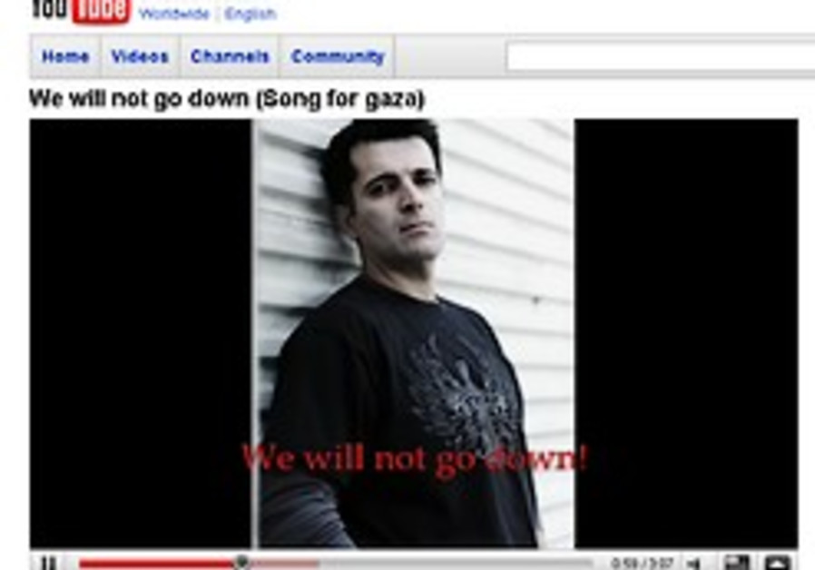 'Song for Gaza' captures hearts of YouTube viewers