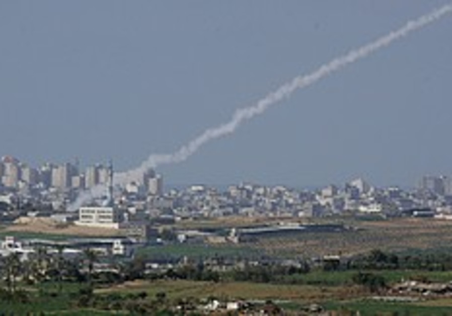 Kassam rocket strikes Eshkol Region