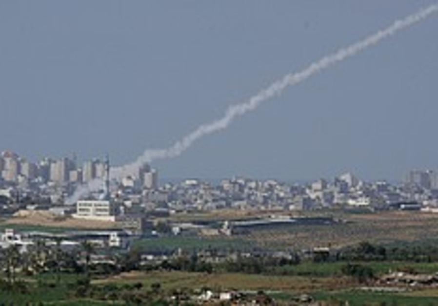 Hamas condemns rocket fire on Israel