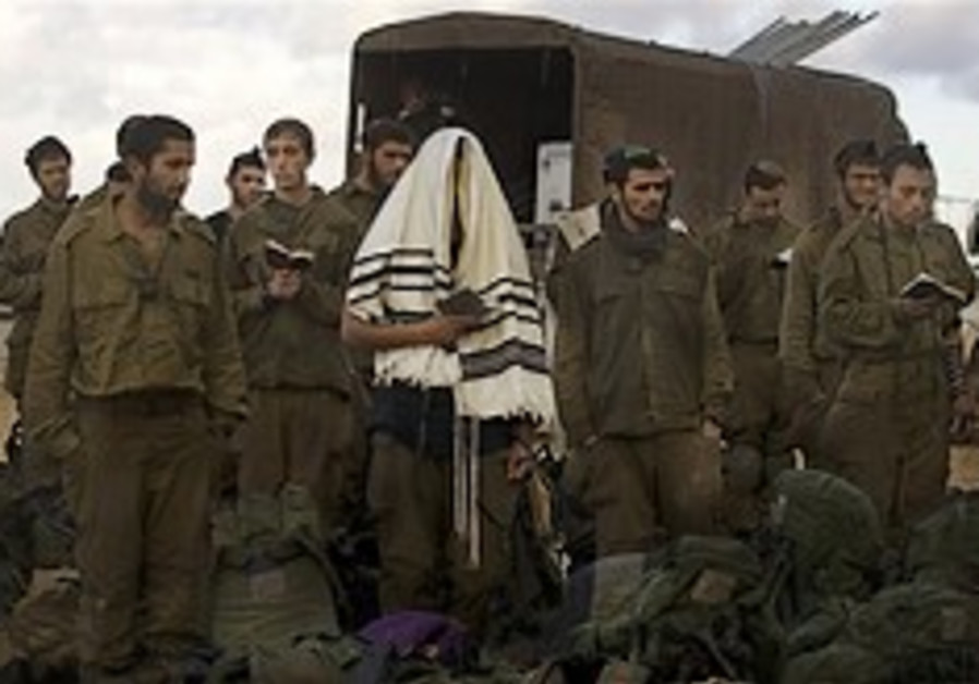 IDF: Soldier cannot say kaddish in shul
