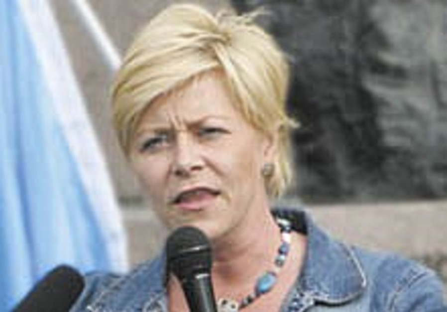 Norway's pro-Israel opposition leader under 24-hour guard