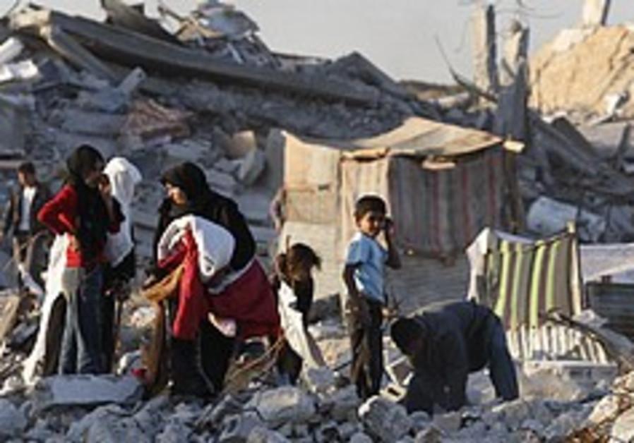 Gaza victims describe human shield use