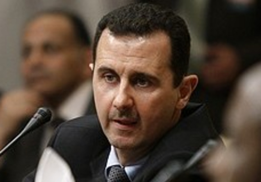 Assad: Site Israel bombed was built over
