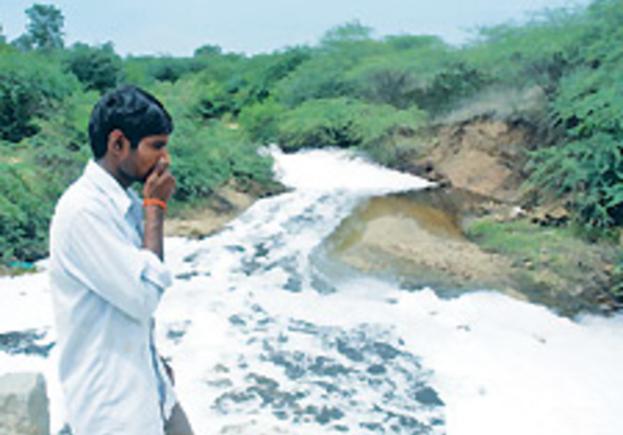 Record drug levels enter India stream
