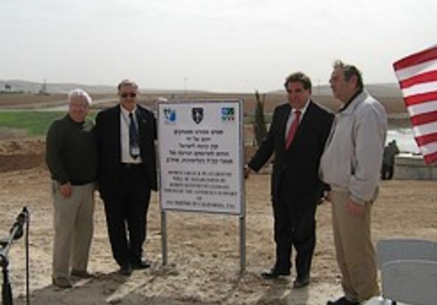 Realizing visions in the Negev JNF America - Missions visit Israel's South