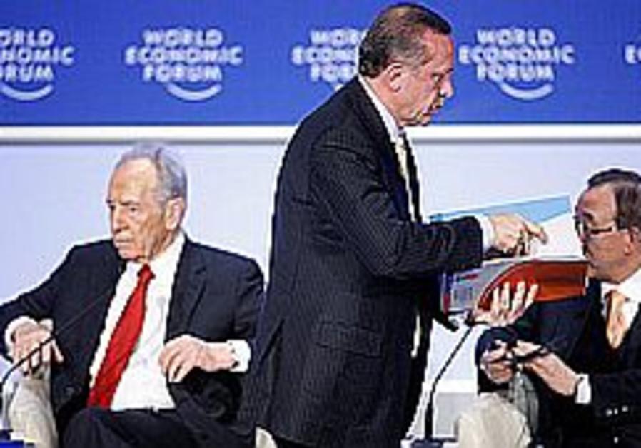 Peres: Erdogan spat 'nothing personal'
