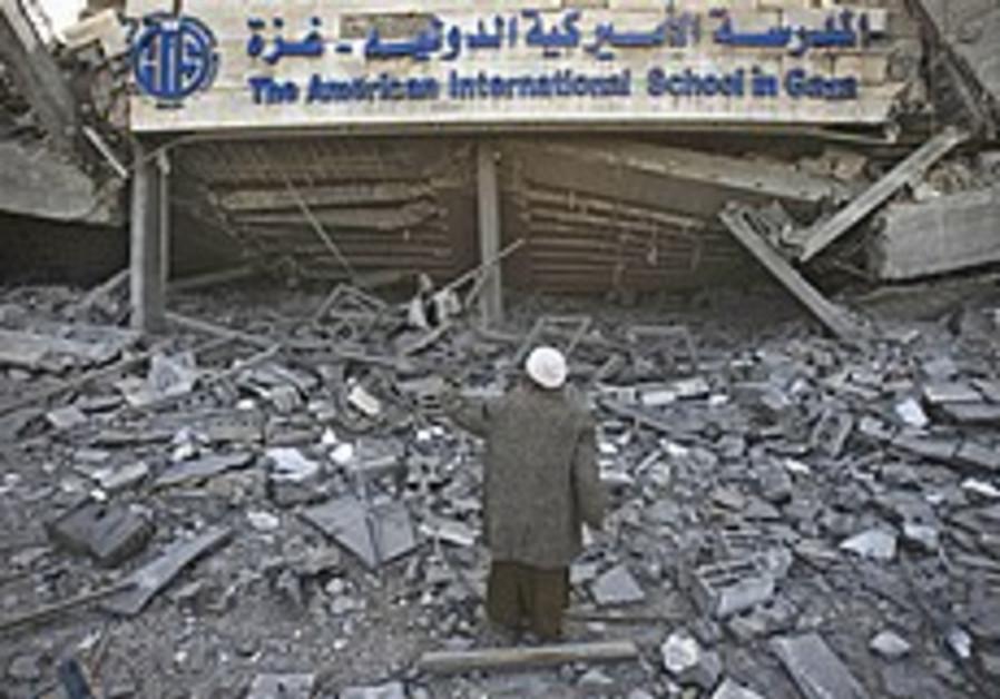 Hamas dispenses politics along with aid